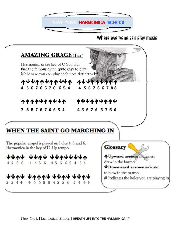 Harmonica : harmonica tabs when the saints go marching in Harmonica Tabs at Harmonica Tabs When ...