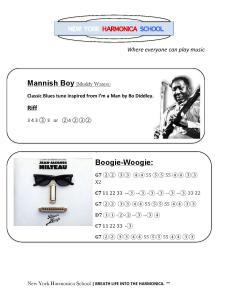 Mannish Boy-Boogie Woogie