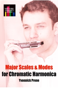 The Major Scales for Chromatic Harmonica